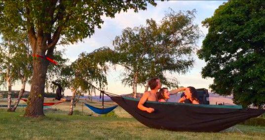hydro hammock hammock hot tub portable hot tub affordable hot tub eco hydro hammock turns a relaxing camping trip into a hot tub party      rh   pinterest
