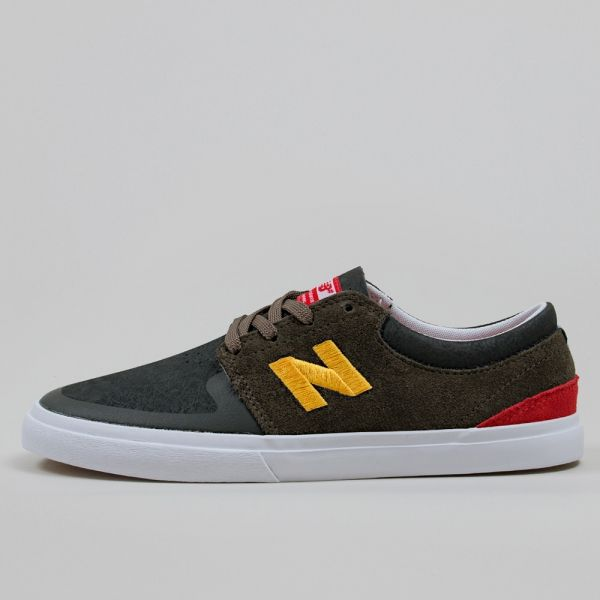 save off 27262 7f580 New Balance Numeric Brighton 344 Black Olive Shoes | shoes in 2019 ...