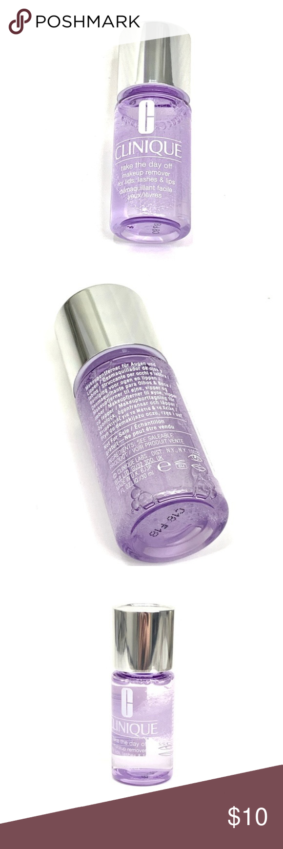 5 FOR 25 Makeup Remover Lip makeup remover, Clinique