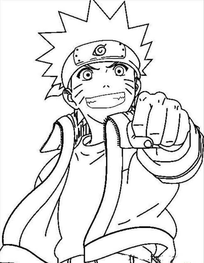 Free Printable Naruto Coloring Pages For Kids | Pinterest | Dibujo