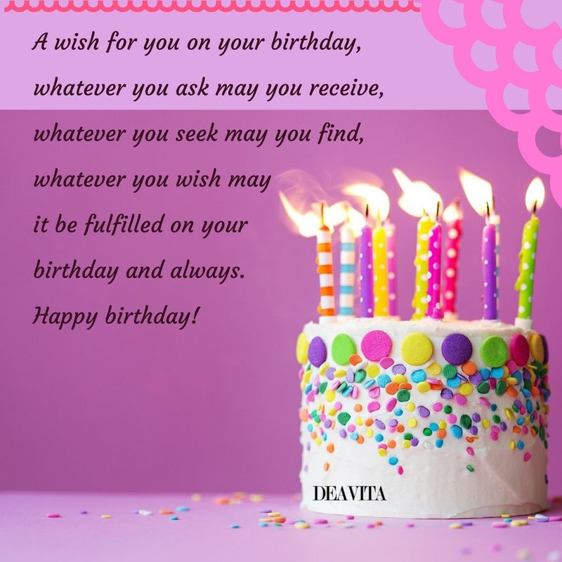 The Best Happy Birthday Quotes Cards And Wishes With Unique