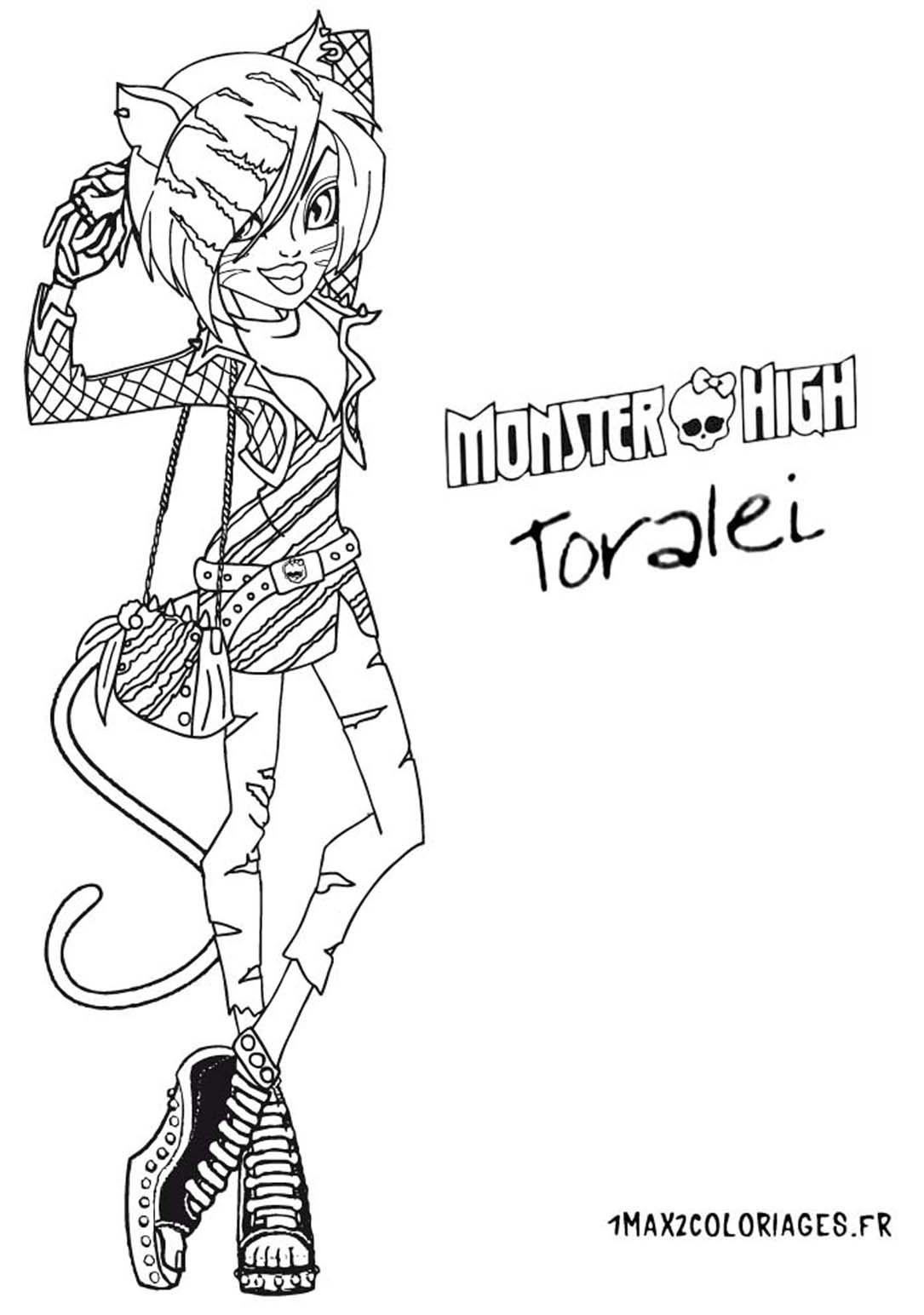 nouvelle poupee monster high Toralei | Charlotte | Pinterest