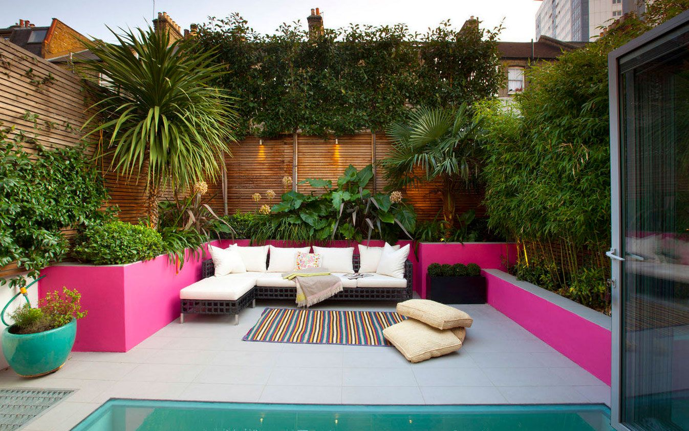 Wunderschöne und ausgefallene Ideen für einen kleinen Garten ...