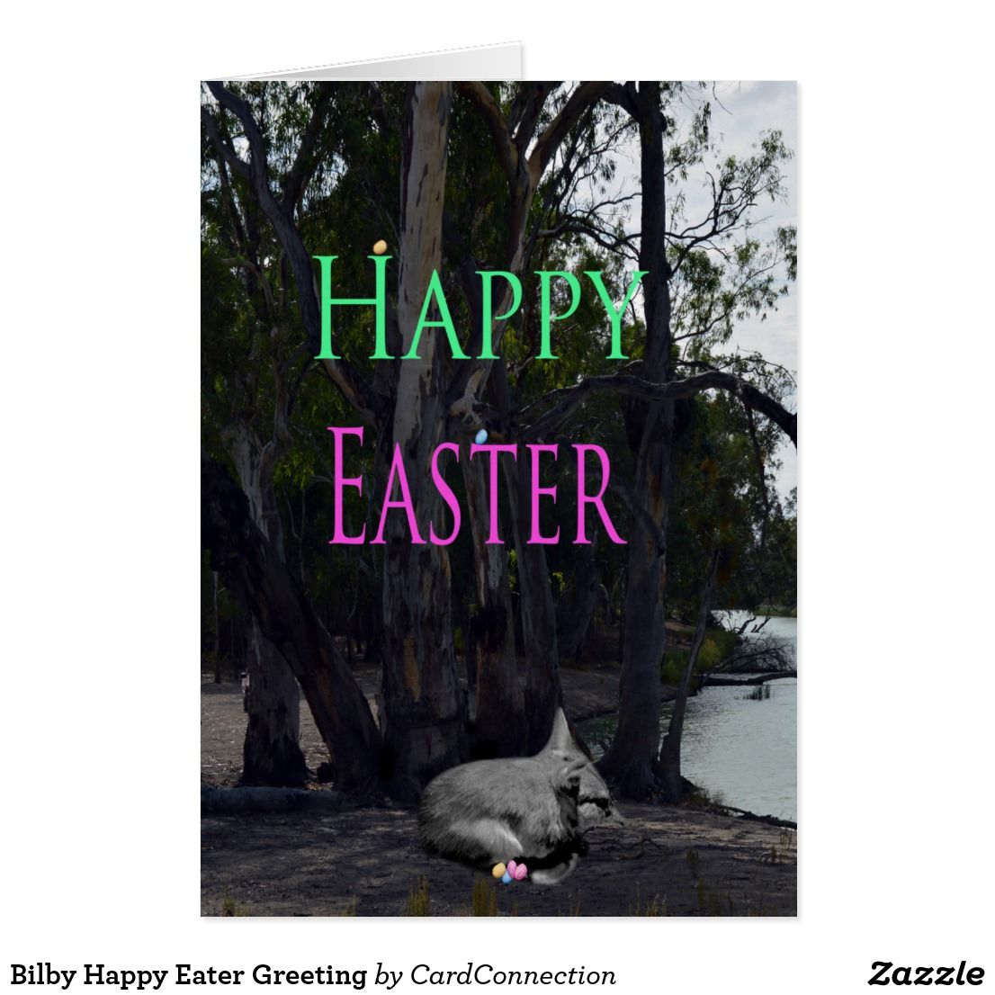 Bilby Happy Easter Greeting Card Happy Easter Greetings And Easter