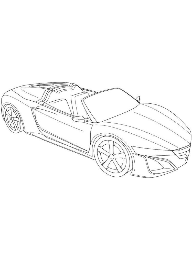 Super Car Ferrari Enzo Coloring Page Cool Car Printable Free Race Car Coloring Pages Cars Coloring Pages Truck Coloring Pages