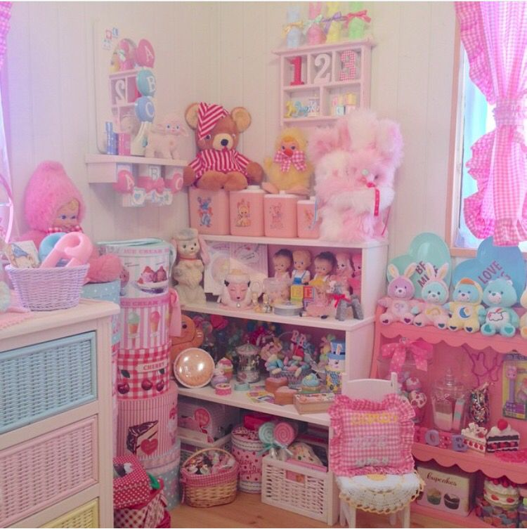 Super kawaii pastel room kawaii pastel princess for Pastel diy room decor