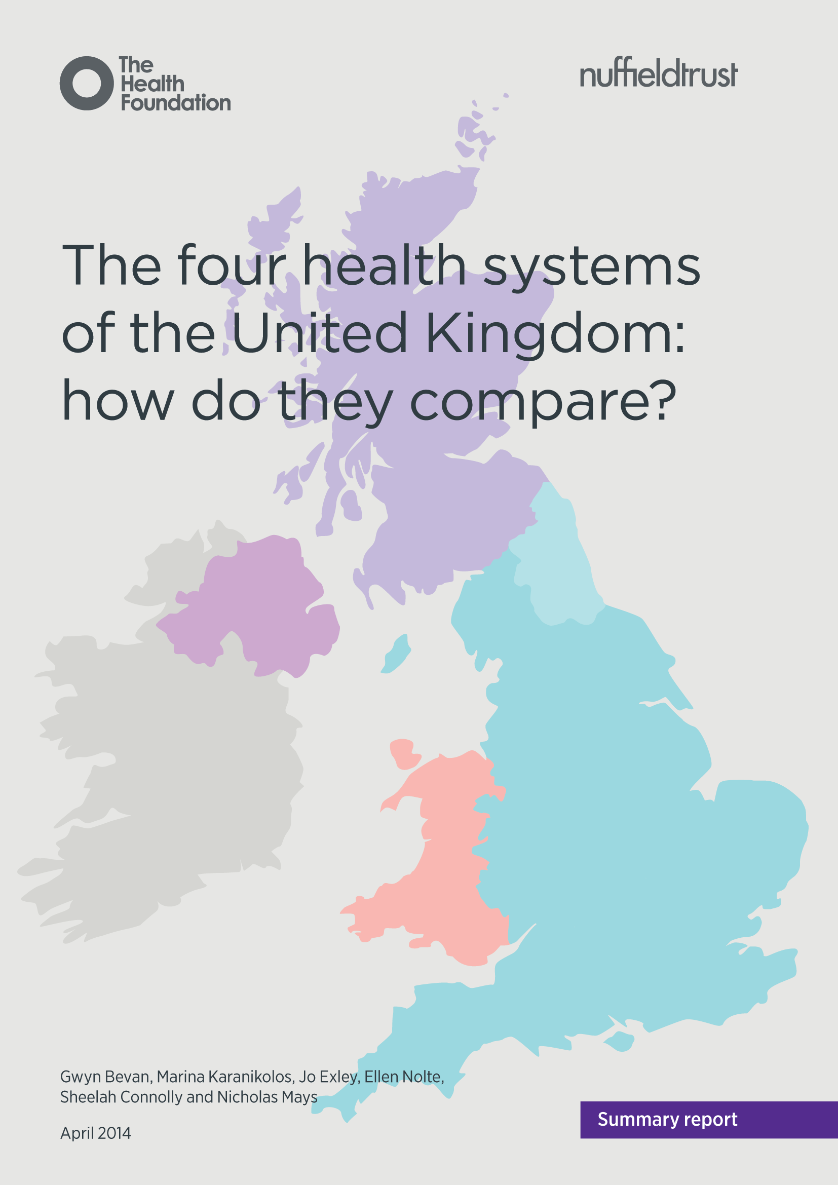 The Four Health Systems Of The Uk How Do They Compare Nhs