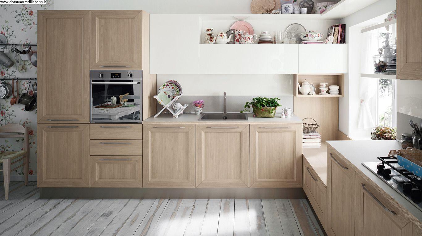 cucina angolare anta telaio di Veneta Cucine | Kitchen | Pinterest