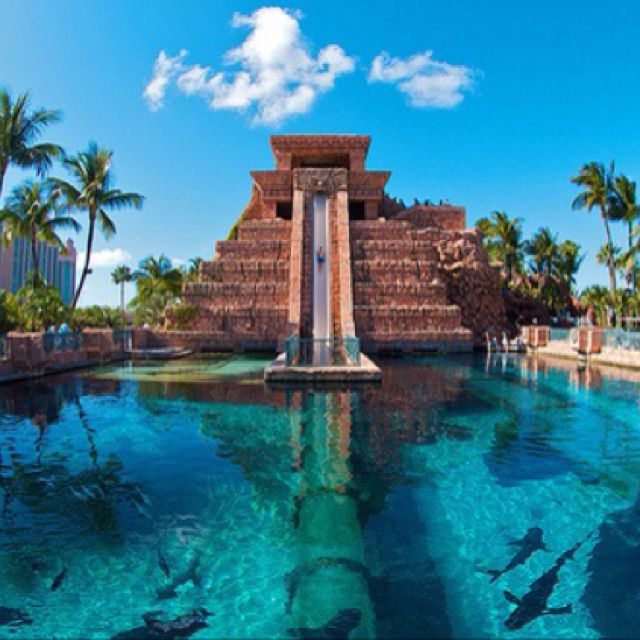 Paradise Island Bahamas Beaches: Yup. Put This On The 'Bucket List'. Atlantis On Paradise