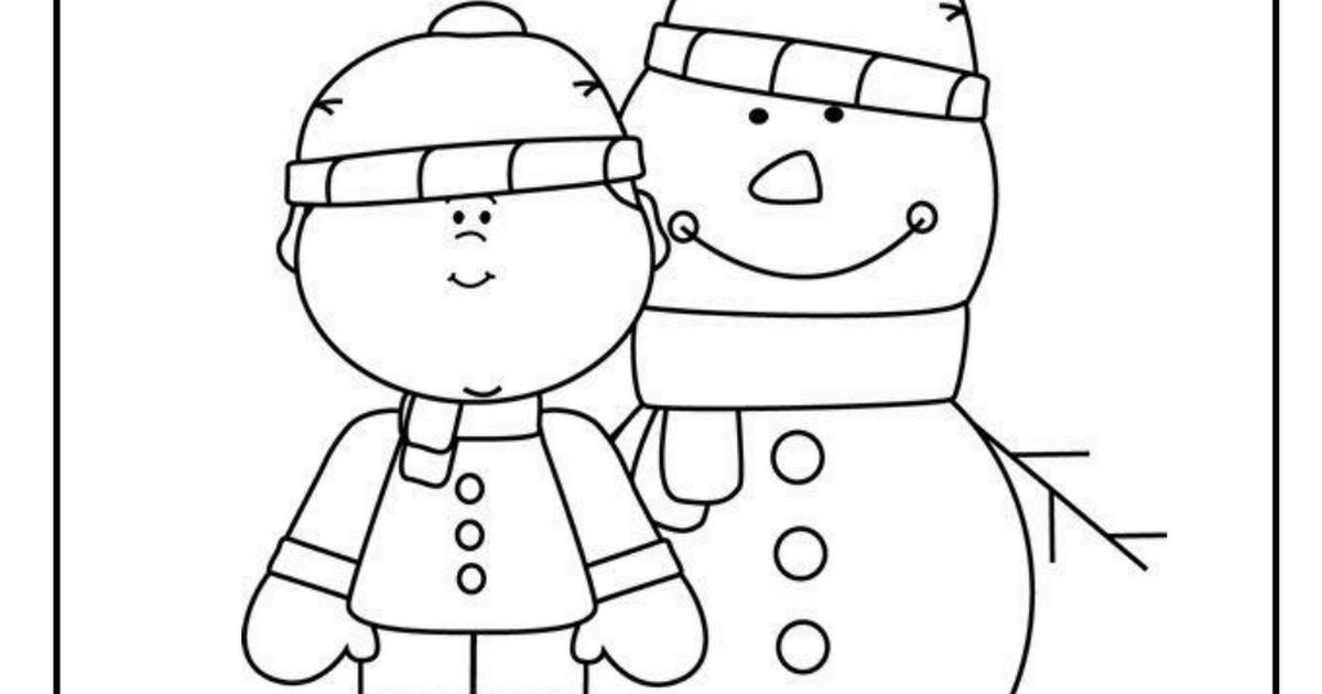 kleuters winter werkbladen.pdf Winter, Winterkledij en