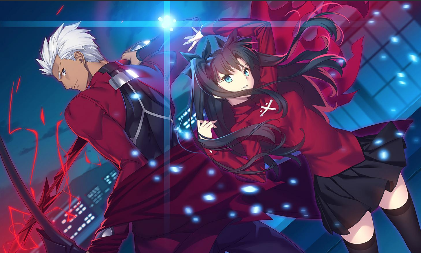 Fate Series In Fate Stay Night Characters Fate Stay Night Fate Stay Night Rin