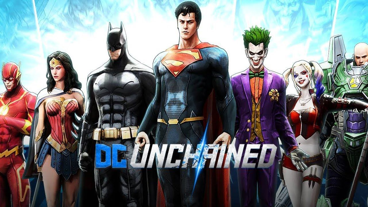 Dc unchained iosandroid gameplay new updated