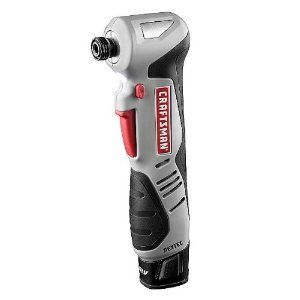 This Craftsman Nextec 12 Volt Right Angle Impact Driver Features Innovative Compact Ergonomic Design The Re Impact Driver Cordless Drill Reviews Craftsman