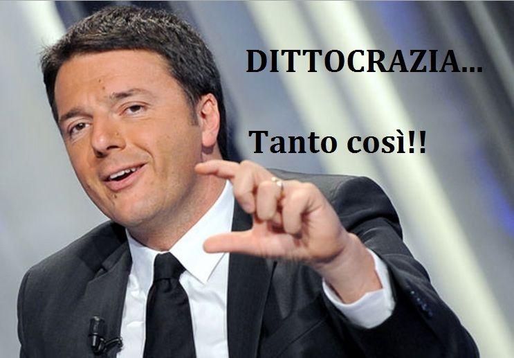 Renzi neofascista