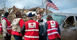 Image result for american red cross volunteers in action
