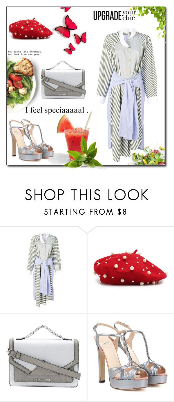 """""""I used to see U everyday, but now I guess I'll see U around."""" by lucas-lucas-c ❤ liked on Polyvore featuring Loewe, Karl Lagerfeld and Francesco Russo"""
