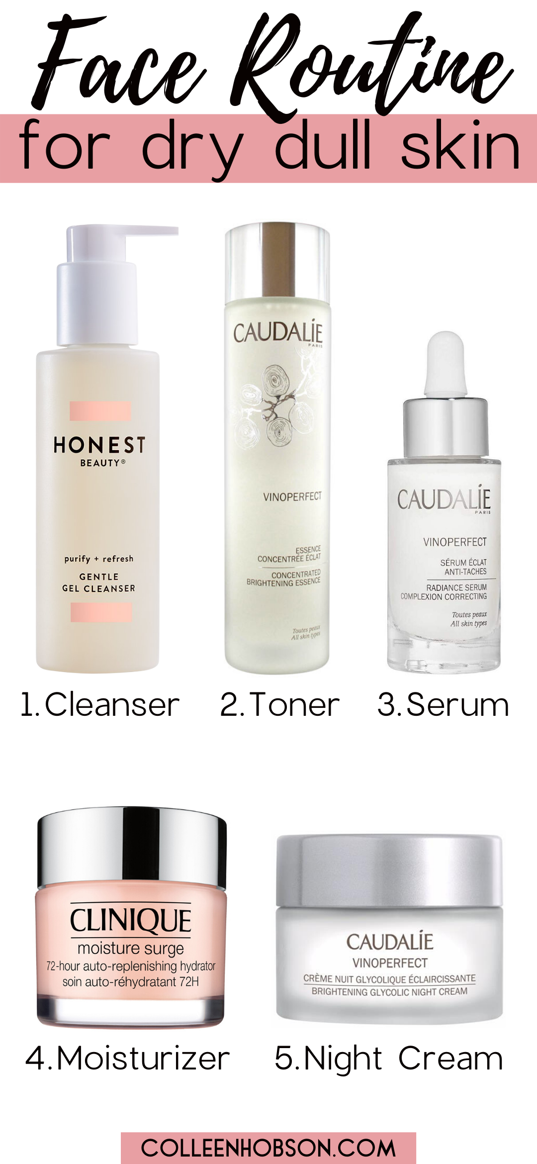 Amazing Daily Skincare Routine For Dry Dull Skin In 2020 Skin Care Dull Skin Skin Care Routine