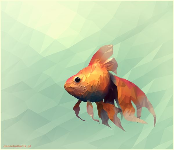 Paper Fish by Daniel Mikulik, via Behance | fish | Pinterest ...
