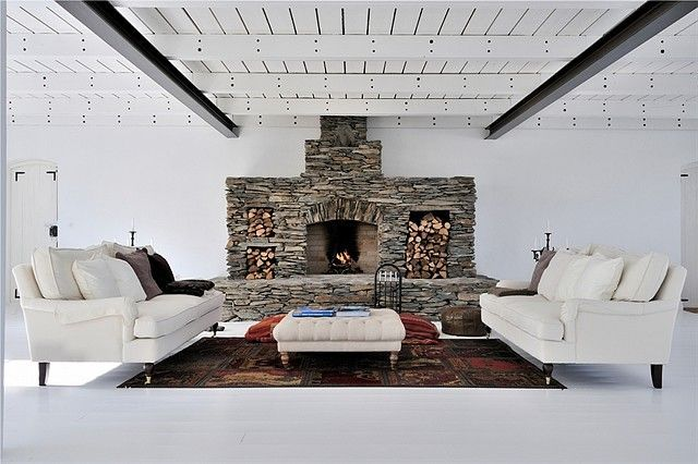 The designs of fake fireplace ideas stunning diy stone fireplace design