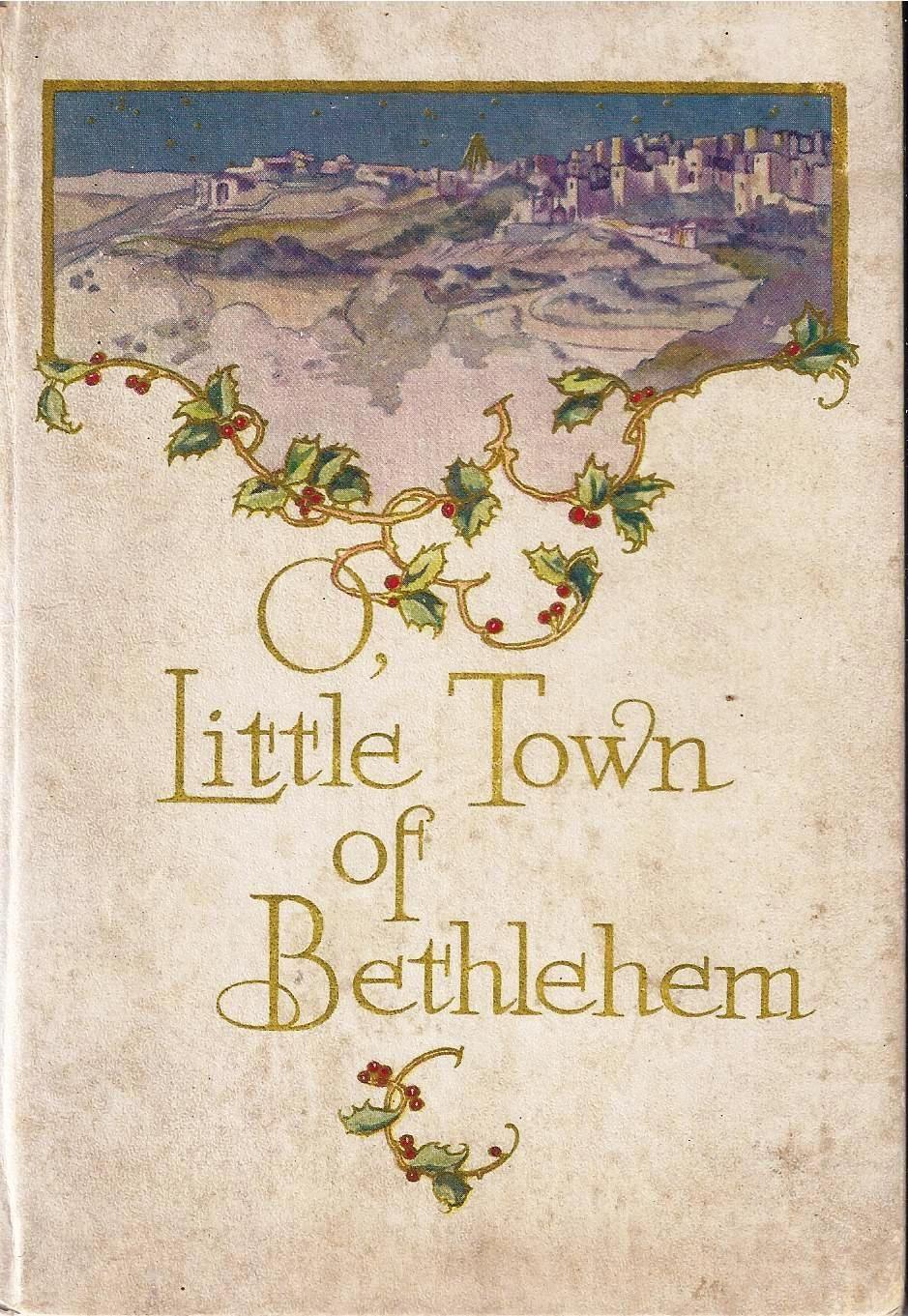 O Little Town Of Bethlehem Author Reverend Phillips Brooks Silver Halide Photo