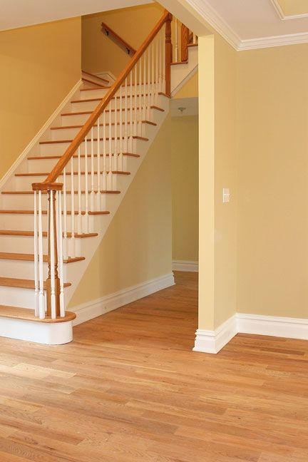 Attractive Stair Case And Floor Trim Real Estate Pinterest