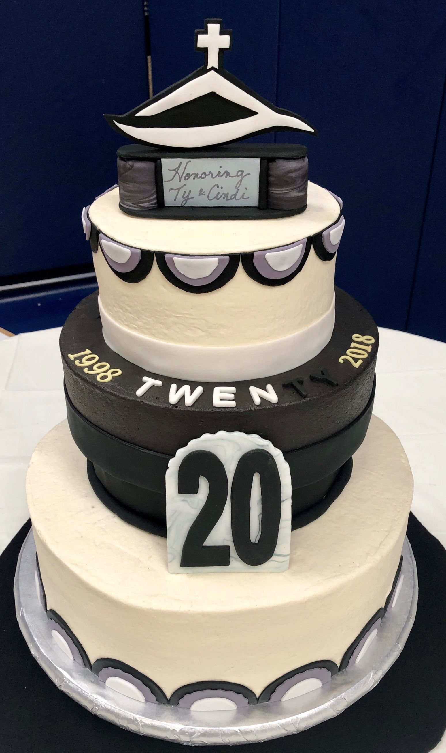 20th Anniversary Celebration Cake For Pastor Ty And Cindi South