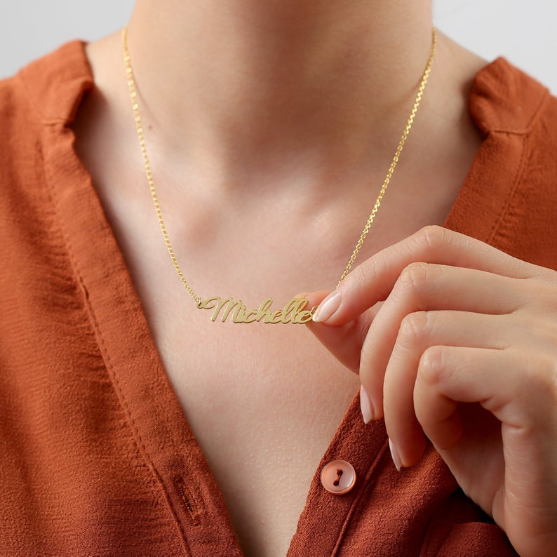TROPICAL Mini Pineapple Necklace Minimal Delicate 14k Gold Fill Rose Gold Fill Personalized Necklace Initial Pendant Sterling Silver