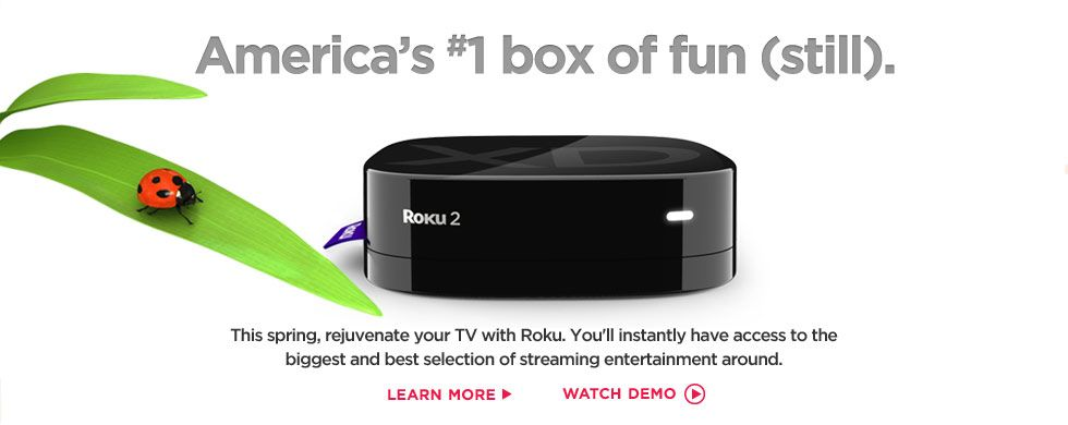I've been using Roku for over a year... ditched cable! I