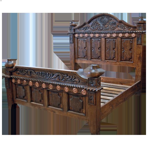 Bon Las Cruces 3 Bed | Jorge Kurczyn Western Furniture