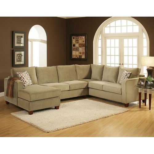 Belfort Essentials Tenley U Shaped Contemporary Sectional with Left