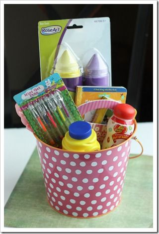 Top 50 easter basket ideas that arent candy basket ideas 50 easter basket gift ideas a list of fun non candy basket fillers the kiddos will love via super healthy kids negle Images