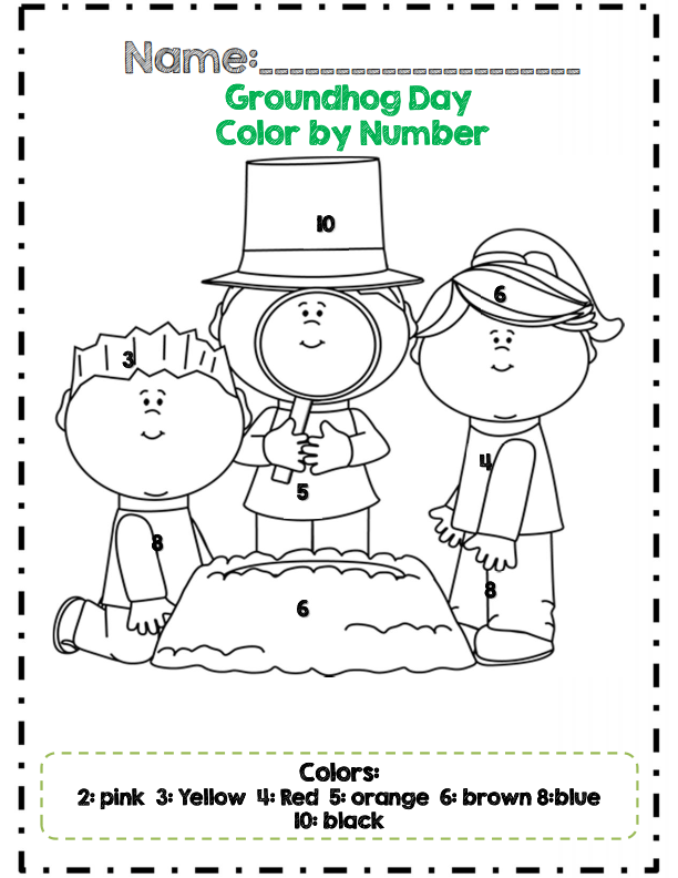 Kindergarten Groundhog Day Math Adventures *Common Core