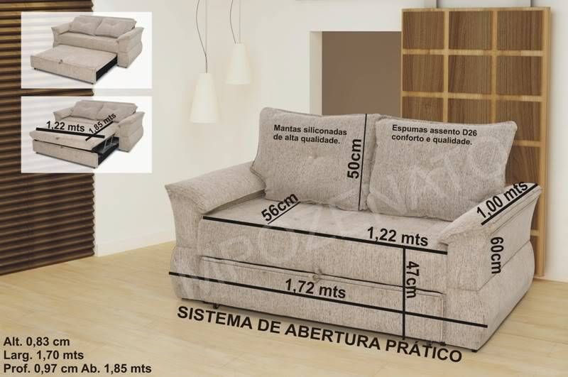 medidaS DE SOFA DE ALVENARIA - Pesquisa Google   Sofá de ...