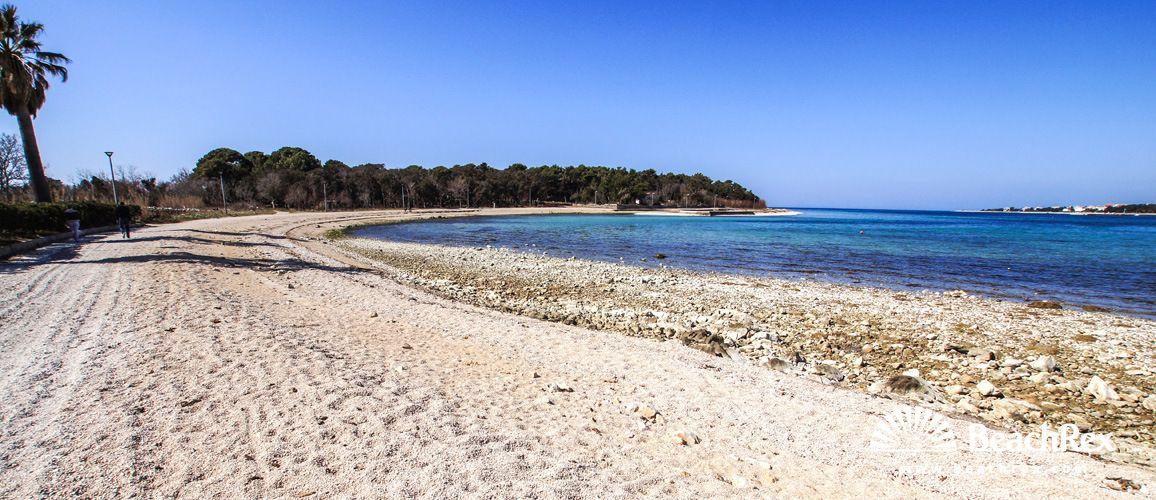 Beach Vrtić - Novalja - Island Pag - Lika - Croatia