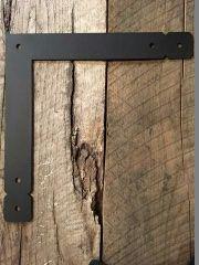 double cropped l shaped brackets custom beam brackets. Black Bedroom Furniture Sets. Home Design Ideas