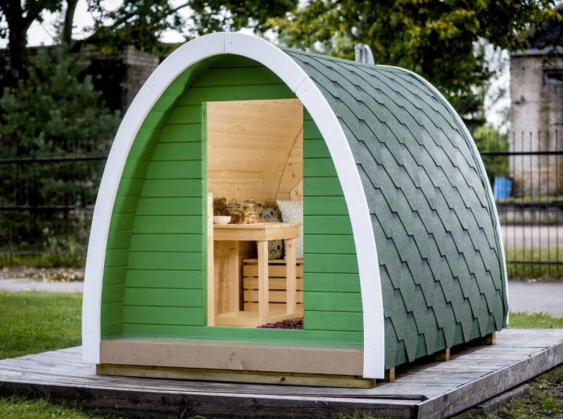Cabane pour enfant - modèle igloo - longueur 2,3m - TerraGallia ...