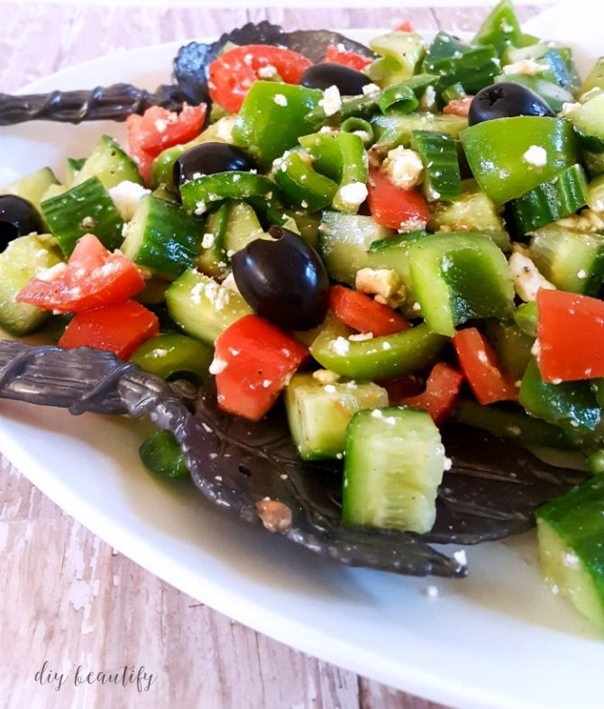 Greek salad side dish