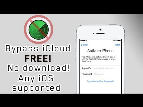 How to bypass iCloud - Bypass iCloud for FREE! - Activation Lock r