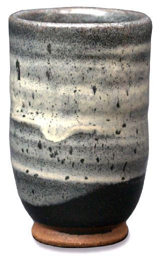 Coyote Light Shino Over Black On Speckled Buff Clay Ceramic Glaze Recipes Glaze Ceramics Glazes For Pottery