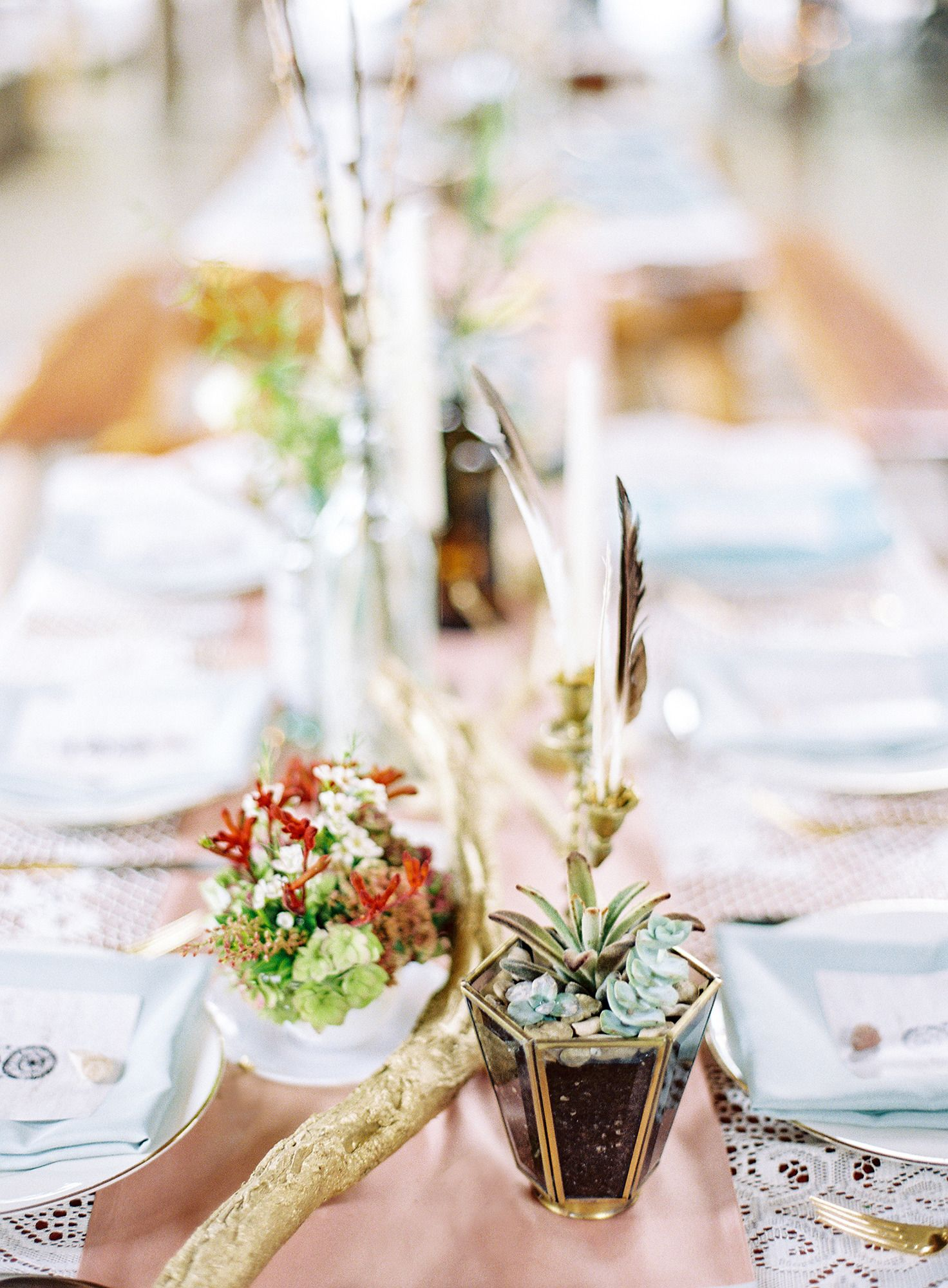 Outdoor Boho Austin Wedding | Themed weddings, Centerpieces and Weddings