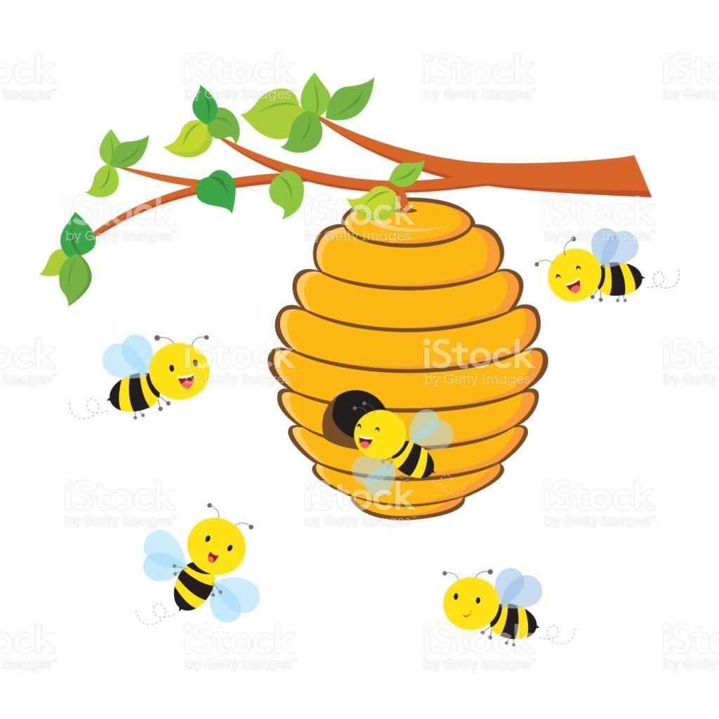 20++ Bee nest clipart info