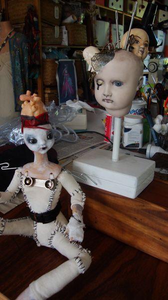 Art Dolls by Lorraine Abernethy