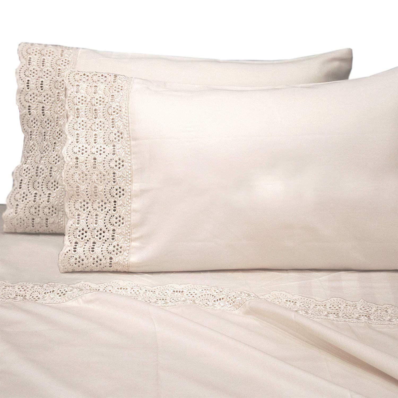 Amazon Com Auraa Smart 600 Thread Count Cotton Rich 4 Piece