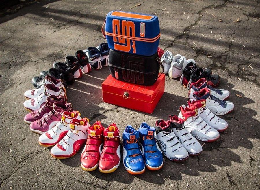 9abd4b1a909b Nike Zoom LeBron IV Lot on eBay - SneakerNews.com