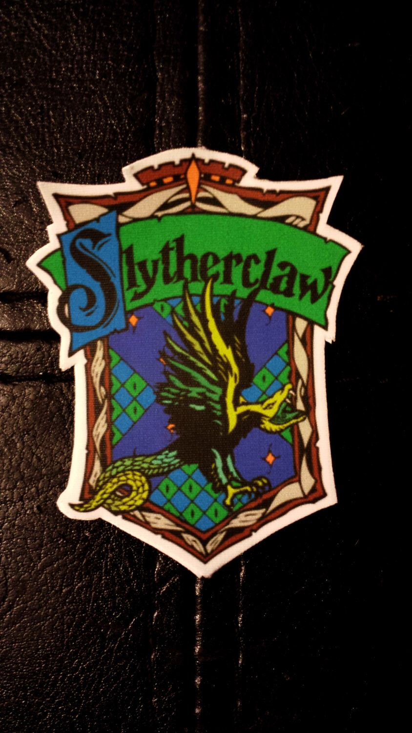 Harry Potter Slytherclaw Cross House Crest Vinyl Sticker By CrestCrossed On Etsy Listing 203645522