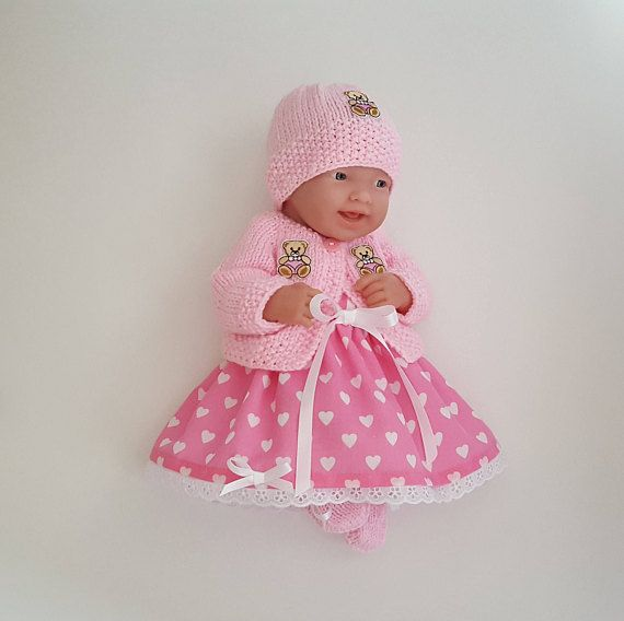 Dolls Clothes Set Made For 10 11 Inch 25 28 Cms Berenguer La Baby Llorens Reborn Or Similar Reborn Poupee