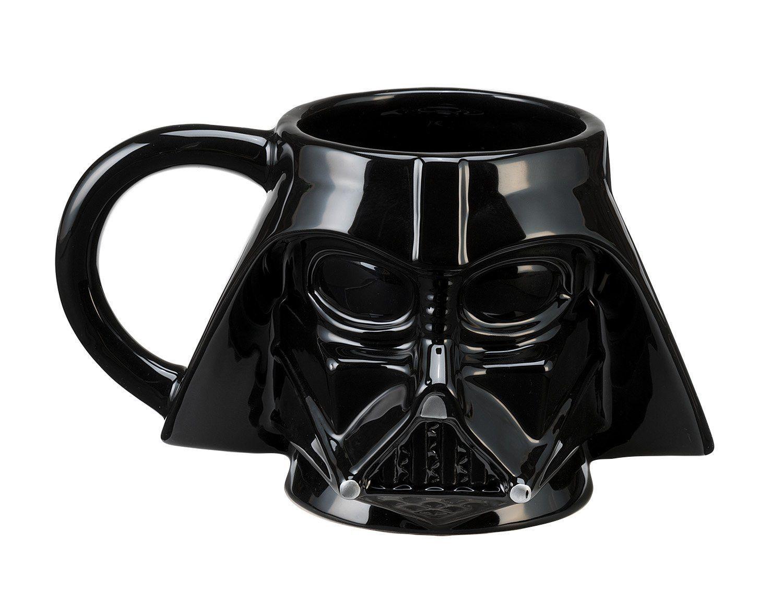 Star Wars Darth Vader Sculpted Ceramic Mug, Multicolored