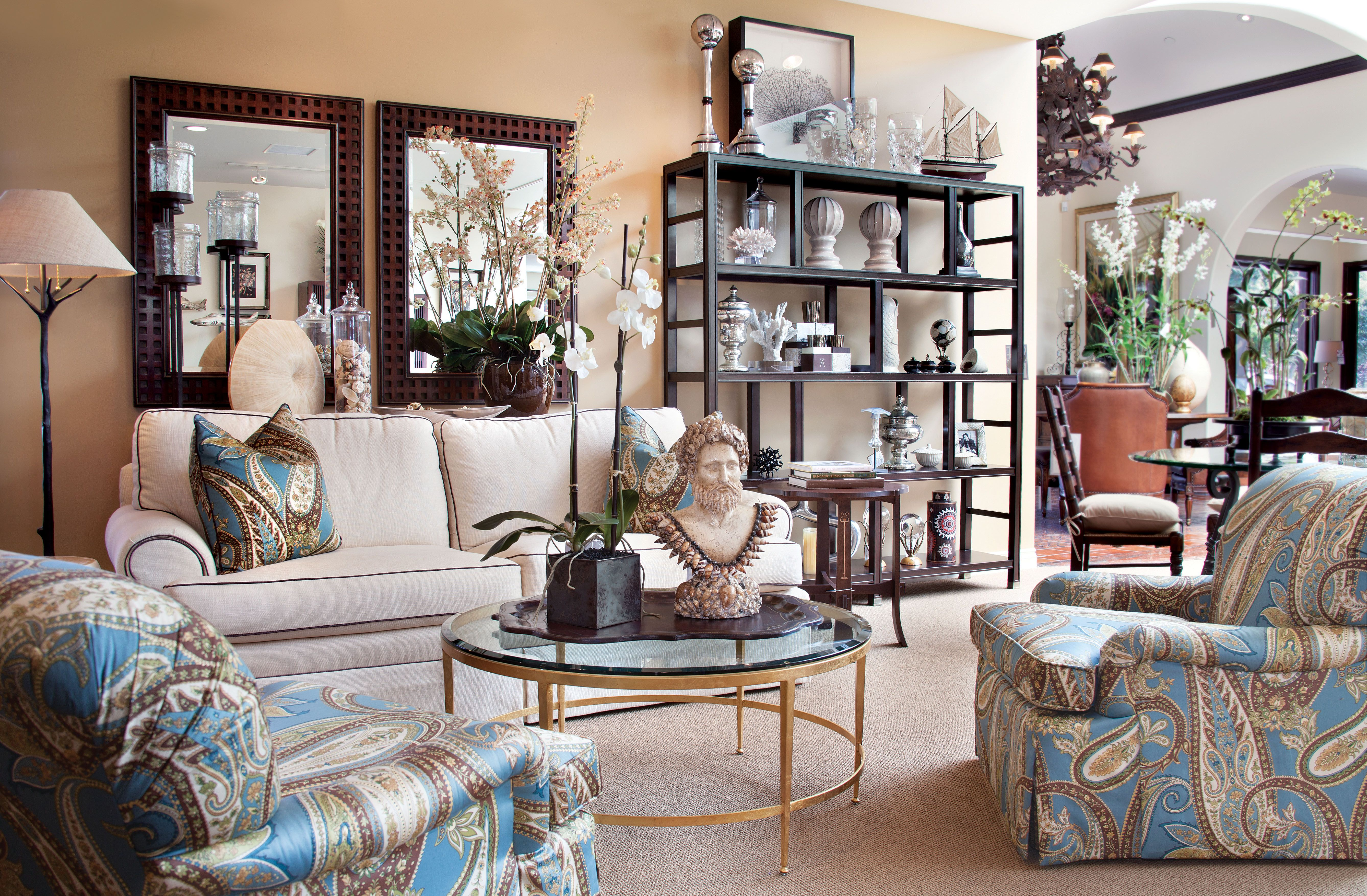 Von Hemert Interiors Recently Redesigned Its Laguna Beach Store, One Of  Three In California,