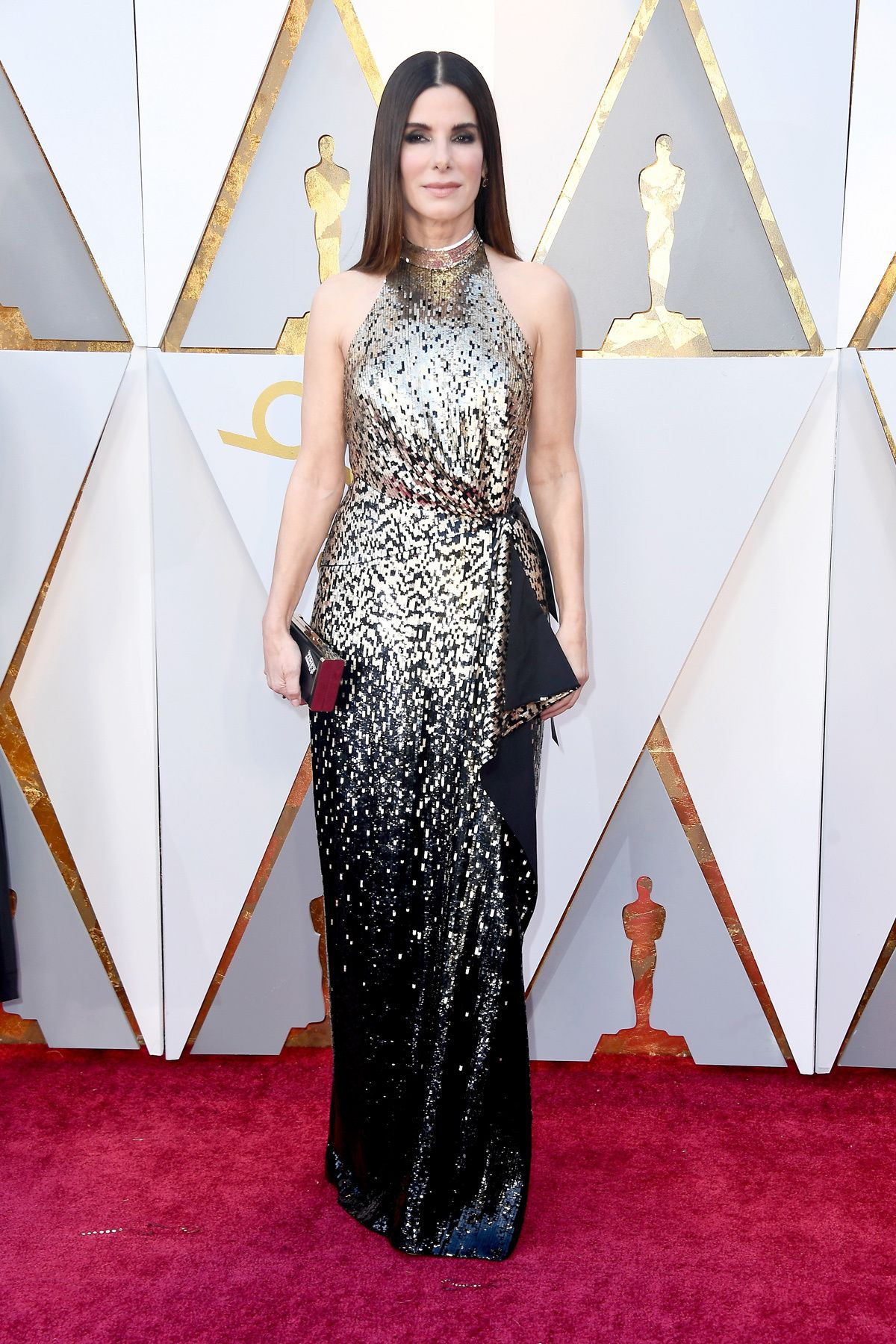 036c15618 Sandra Bullock  dress  oscars  2018  redcarpet