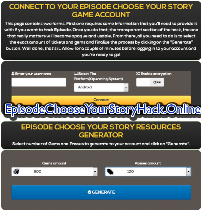 episode choose your story mod apk unlimited gems and passes download